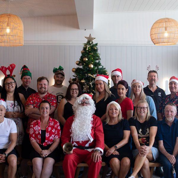 christmas 2020 staff photo