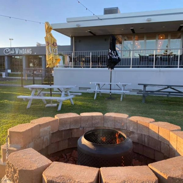 day - firepit - club windang - front green
